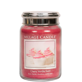 Cherry Vanilla Swirl 737gr Large Candle
