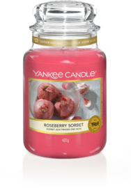Yankee Candle Roseberry Sorbet - Large