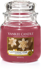 Yankee Candle Glittering Star - Medium