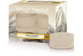 Yankee Candle Warm Cashmere - Tea Lights 12st