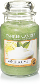 Yankee Candle Vanilla Lime - Large