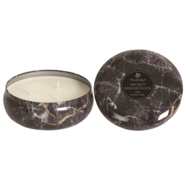 Secret Rendezvous 470gr Tinned Candle