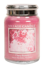 Village Candle Cherry Blossom - Large Candle