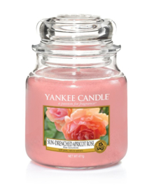 Yankee Candle Sun-Drenched Apricot Rose - Medium