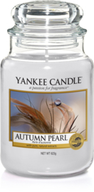 Yankee Candle Autumn Pearl - Large