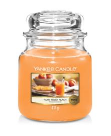 Yankee Candle Farm Fresh Peach - Medium