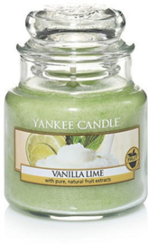 Yankee Candle Vanilla Lime - Small