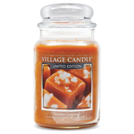 Village Candle Golden Caramel - Large Candle