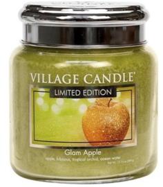 Village Candle Glam Apple - Medium Candle