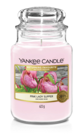 Yankee Candle Pink Lady Slipper - Large