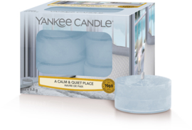 Yankee Candle A Calm And Quiet Place - Tea lights 12st