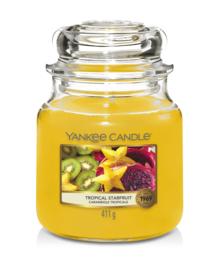 Yankee Candle Tropical Starfruit - Medium