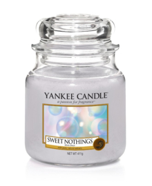 Yankee Candle Sweet Nothings - Medium