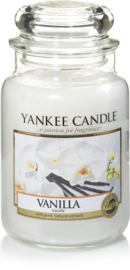 Yankee Candle Vanilla - Large