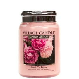 Fresh Cut Peony 737gr Large Candle