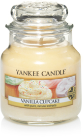 Yankee Candle Vanilla Cupcake - Small