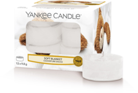 Yankee Candle Soft Blanket - Tea Lights 12st