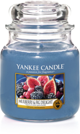 Yankee Candle Mulberry & Fig Delight - Medium