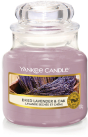 Yankee Candle Dried Lavender & Oak - Small