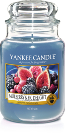 Yankee Candle Mulberry & Fig Delight - Large