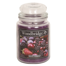 Sweet Berries 565g Large Candle
