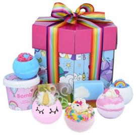 Bomb Cosmetics Unicorn Universe Hex Box Gift Pack
