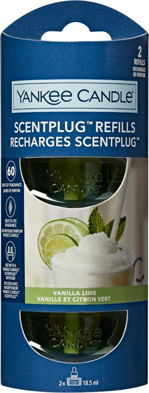 Yankee Candle Vanilla Lime NEW ELECTRIC REFILL (2stuks)