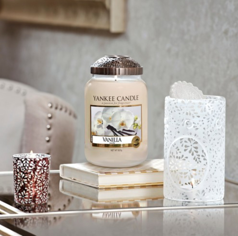 Yankee Candle Sheridan Illuma-lid Flower Bronze