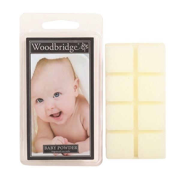 Woodbridge Baby Powder Wax Melt