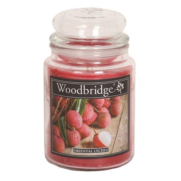 Woodbridge Oriental Lychee 565g Large Candle
