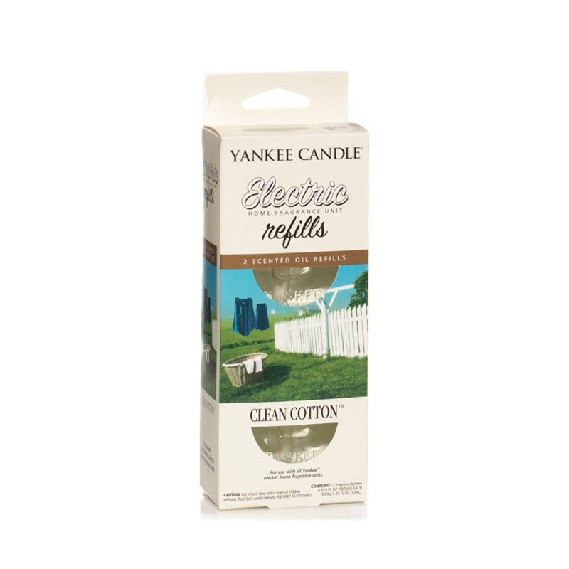 Yankee Candle Clean Cotton REFILL (2 stuks)