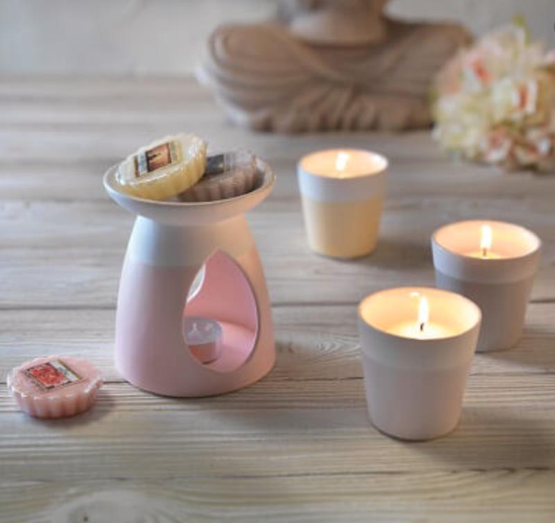 Yankee Candle Pastel Hue Lilac Votive Holder