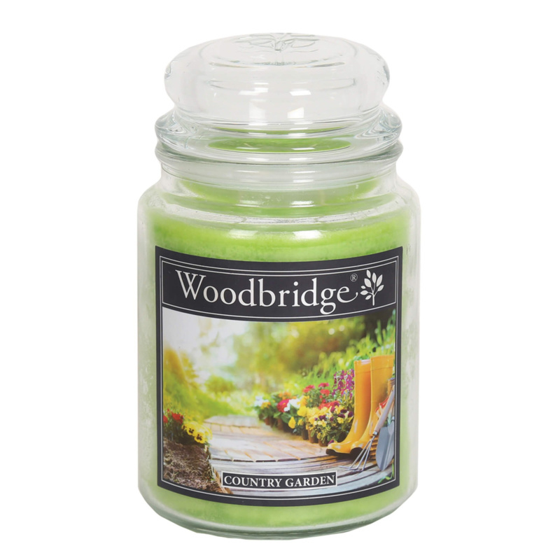 Woodbridge Country Garden 565g Large Candle