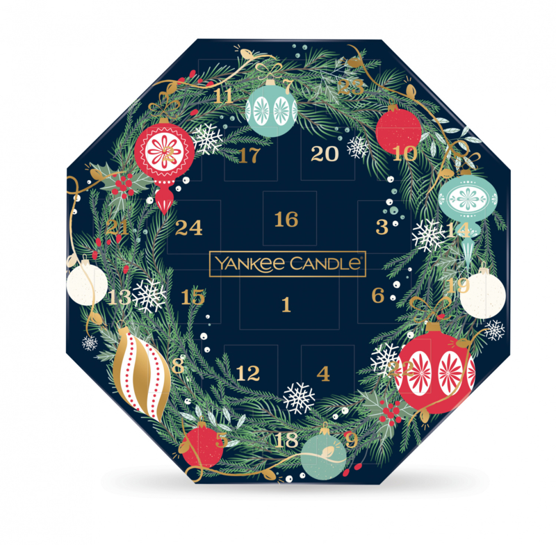 Yankee Candle Countdown To Christmas - Advent Wreath Calender