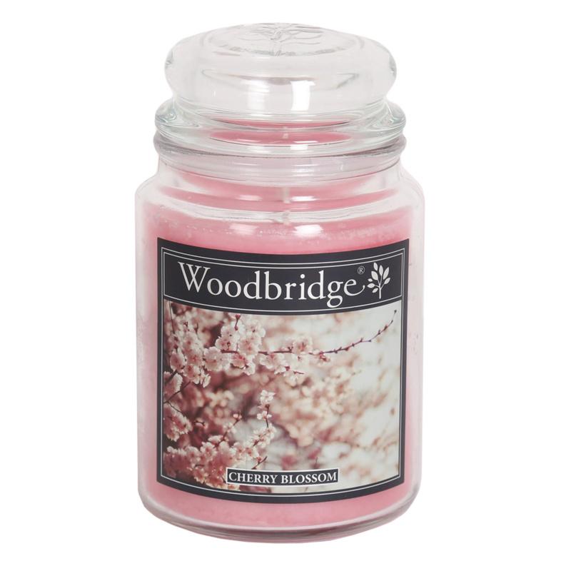 Woodbridge Cherry Blossom 565g Large Candle