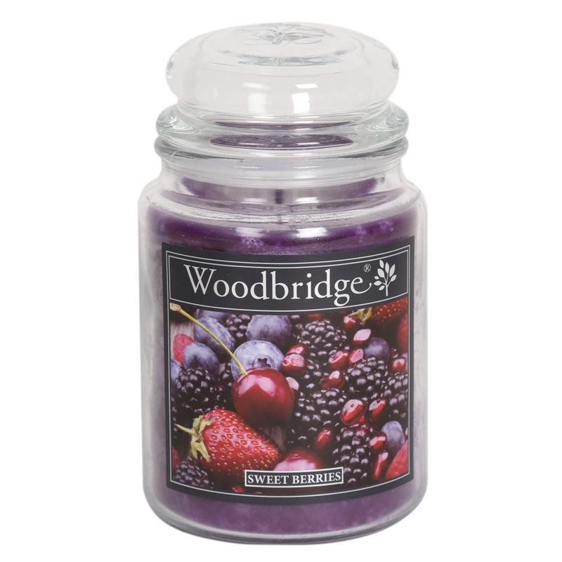 Woodbridge Sweet Berries 565g Large Candle