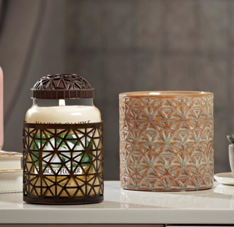 Yankee Candle Belmont Illuma-lid Bronze
