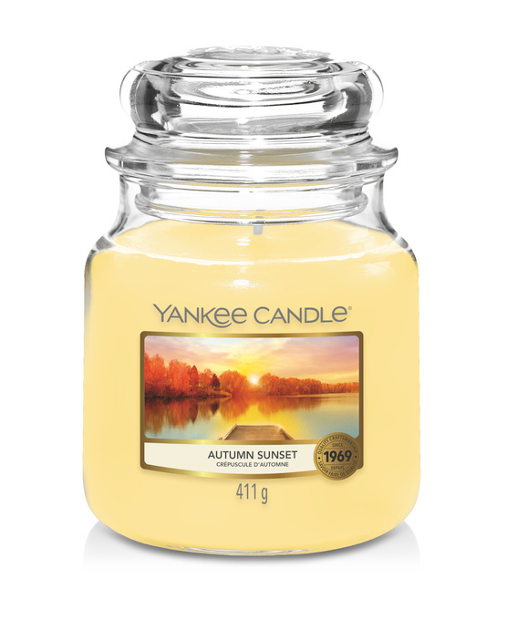 Yankee Candle Autumn Sunset - Medium