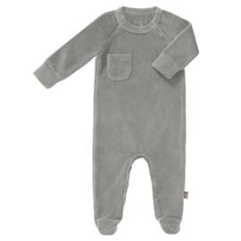 Fresk pyjama met voetjes grijs