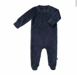 Fresk pyjama met voetjes blauw