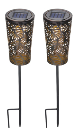 Waves - Garden stick - Set of 2