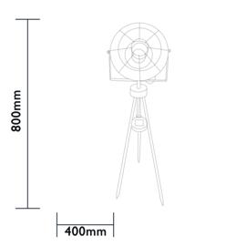 Dresden - Industrial - 80cm (H)