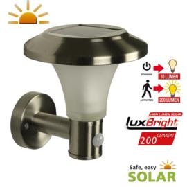 Calais Solar Muurlamp - Buitenlamp met sensor