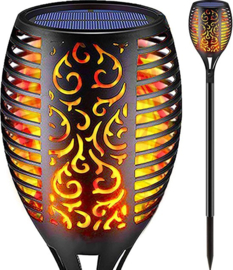 Garden torch - Flame effect - Solar