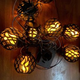 Vlameffect - Hanglampjes - Slinger
