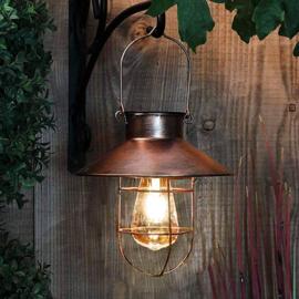 Retro - Hanglamp Brons - Keuze uit 2 maten