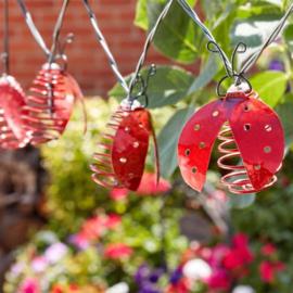 Lieveheersbeestjes - 10 Hanglampjes - Solar