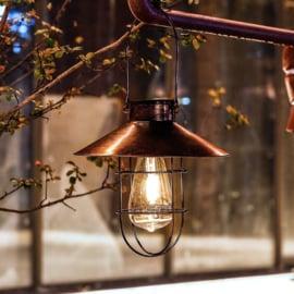 Retro - Solar Hanglamp - Brons