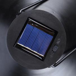 Retro Black - Metaal - Solar Tuinsteker