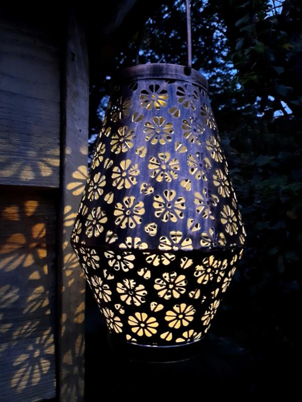 Bloemmotief - Tafellamp - Solar